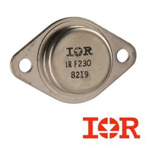 International Rectifier IRF230 TO-3 Steel Case 200V 9Amp N-Channel Mosfet