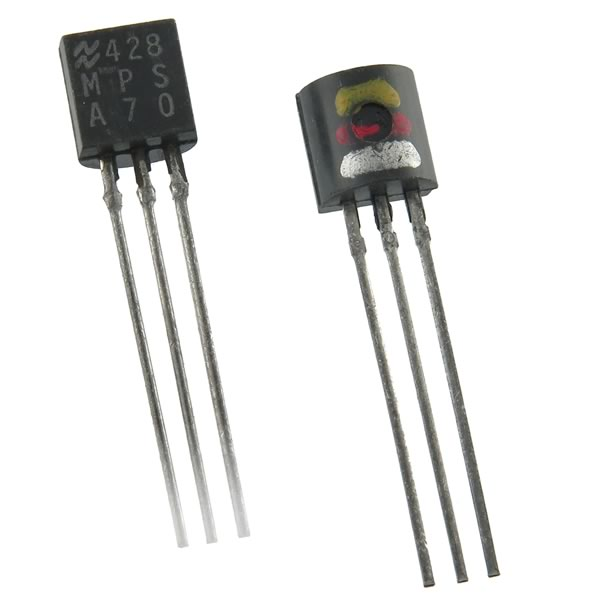 SALE! (Pkg 100) MPSA70 Amplifier Transistor (National)