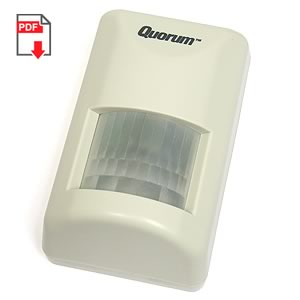 SALE! - Quorum A-160 Passive Infrared Detector