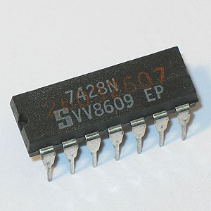 7428 Quad 2-Input Positive-NOR Buffer