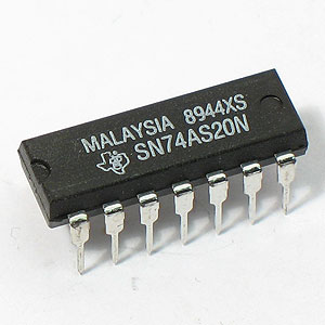 74AS20 Dual 4-Input Positive-NAND Gate