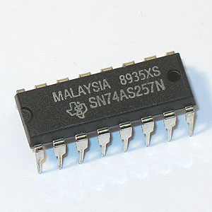 74AS257 3-STATE Quad Data Selector/Multiplexer