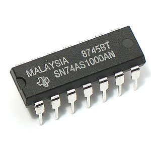 74AS1000 Quad 2-Input Positive-NAND Buffer/Driver