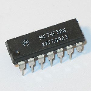 74F38 Quad 2-Input Positive-NAND Buffer