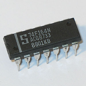 74F164 8-Bit Serial-In Parallel-Out Shift Register