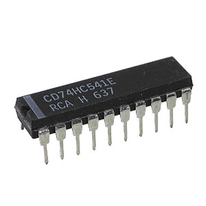 74HC541 Octal Buffer And Line Driver (RCA)