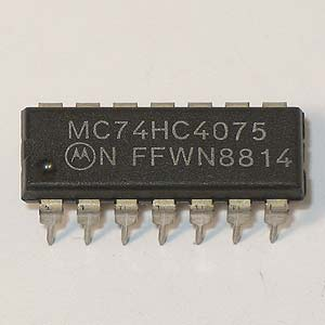 74HC4075 Triple 3-Input Positive-OR Gate