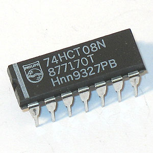 74HCT08 Quadruple 2-Input Positive-AND Gate