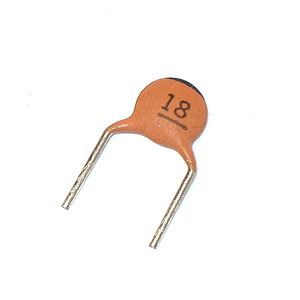 18pF Disc Capacitor (Pkg of 10)