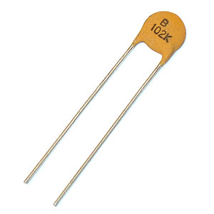 .001uF Disc Capacitor (Pkg of 10)
