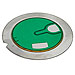 (pkg of 100) 3 Lead Piezo Disk