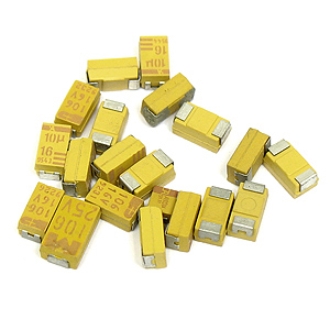 (Pkg of 20) SMD Tantalum Assortment
