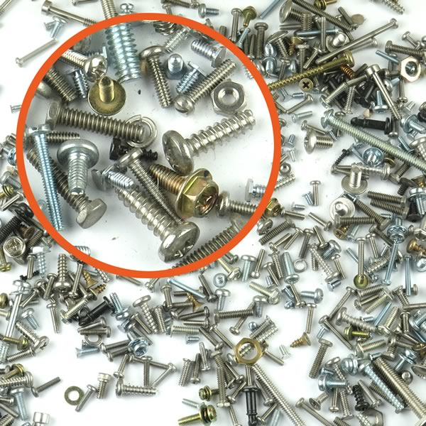 (Pkg of 100) Bag of Screws