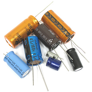(Pkg of 8) High Voltage Radial Caps