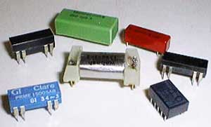 (Pkg of 8) Small Relays Assortment