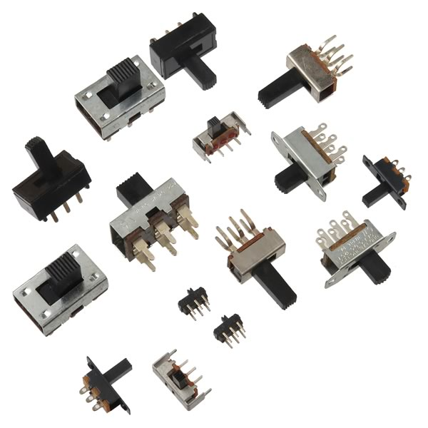 (Pkg of 15) Slide Switch Assortment