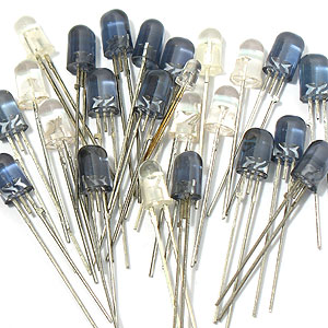 (Pkg of 20) Powerful IR LEDs
