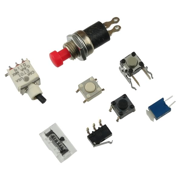 (Pkg of 8) Mini Switch Assortment